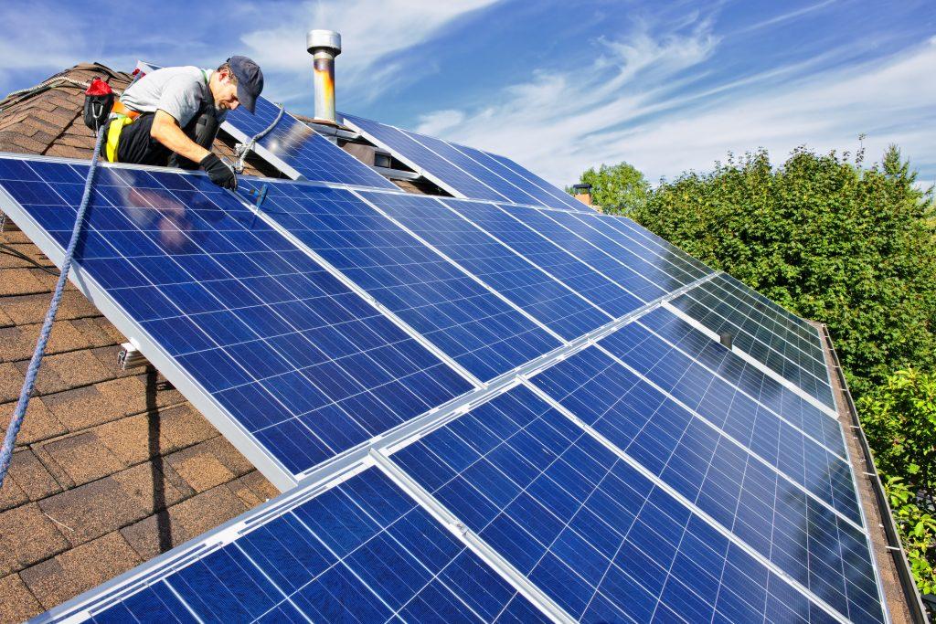 Rooftop Solar PV Installation